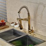 Gold Kitchen Sink Faucet