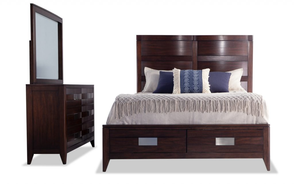 Ventura Storage Bedroom Set Bobs