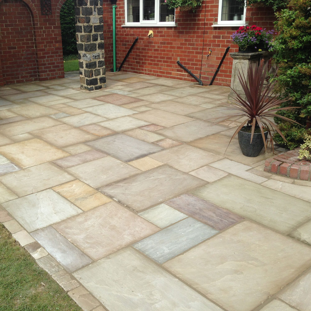 Venus Stone Natural Indian Sandstone Project Packs Raj Green
