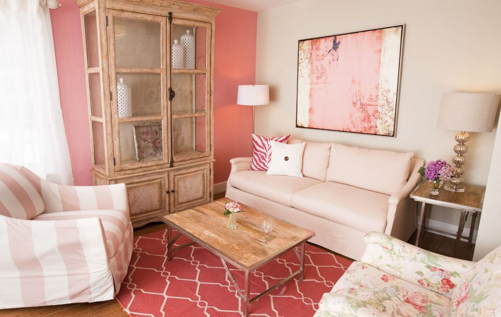 Vintage Pink Living Room Pretty In Pink Pinterest Living Room