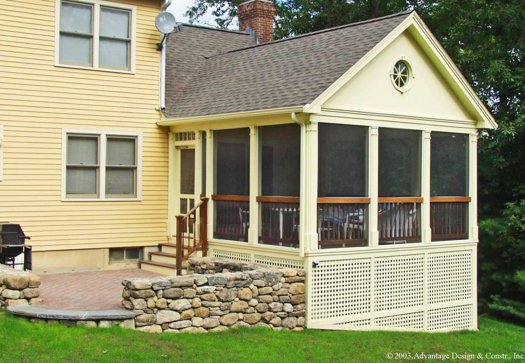 Want To Convert Your Deck To A Porch Suburban Boston Decks And