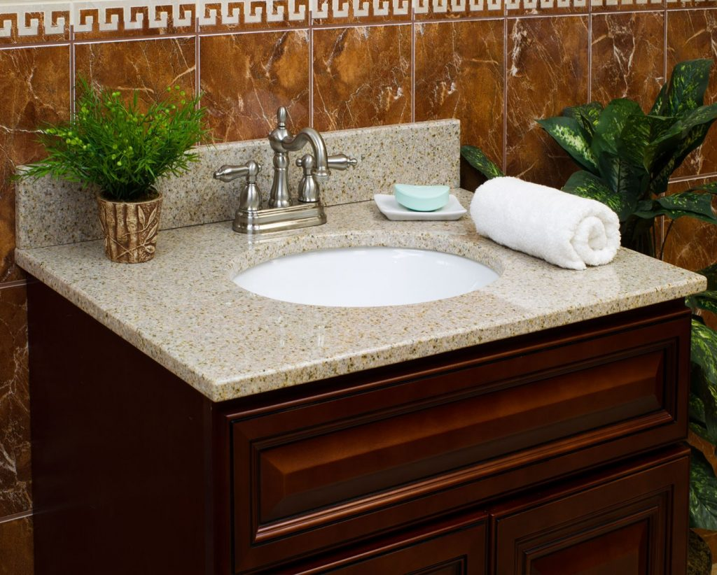 Wheat Granite Vanity Tops