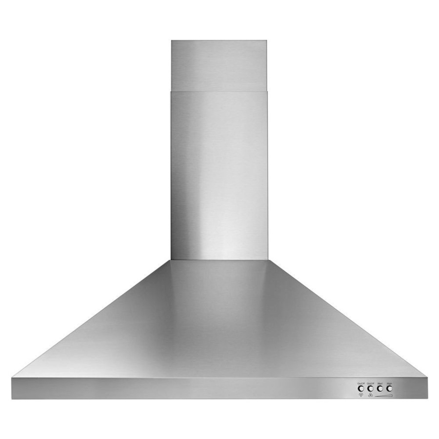 Whirlpool 30 In Convertible Stainless Steel Wall Mounted Range Hood