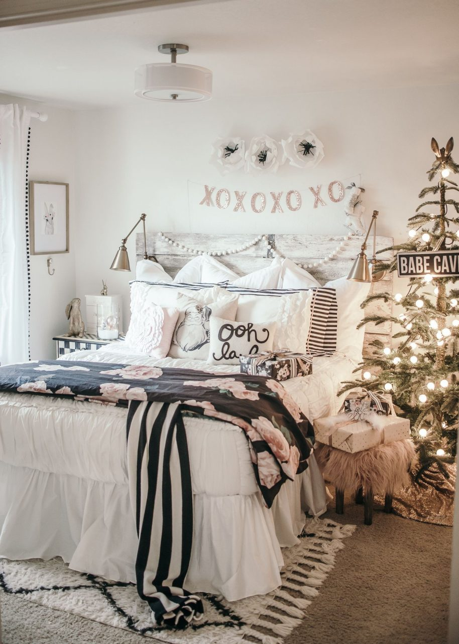 White Bedroom Ideas Tumblr Best Of Girls Christmas Bedroom Makeover