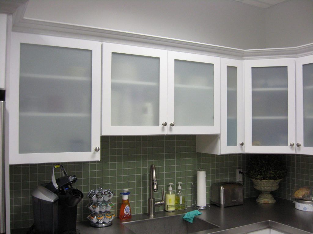White Kitchen Cabinets With Frosted Glass Doors Shayla39s Rubbed