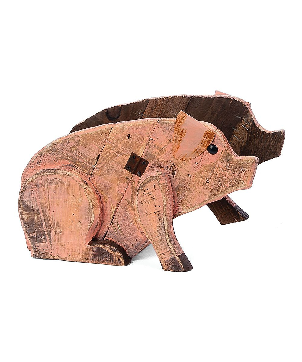 Wood Pig Planter Products Pinterest Wood Pig Wood And Planters