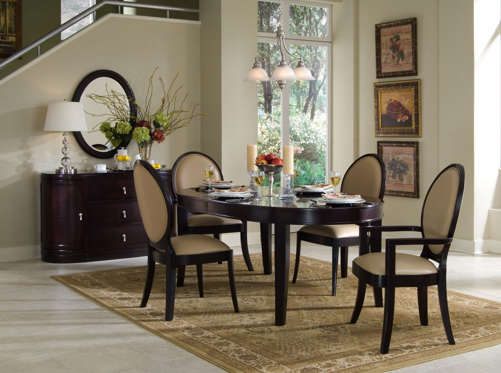 Wooden Dining Table With Oval Brilliant Room Home For Remodel 13