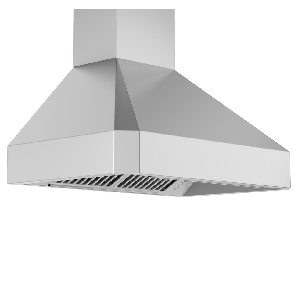 Zline Kitchen And Bath 30 In 900 Cfm Wall Mount Range Hood In