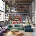 Loft Interior Design Ideas for Living Room