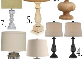 Cottage Style Bedroom Lamps