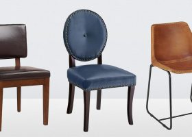 Leather Dining Side Chairs