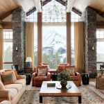 Rustic Living Room Architectural Digest