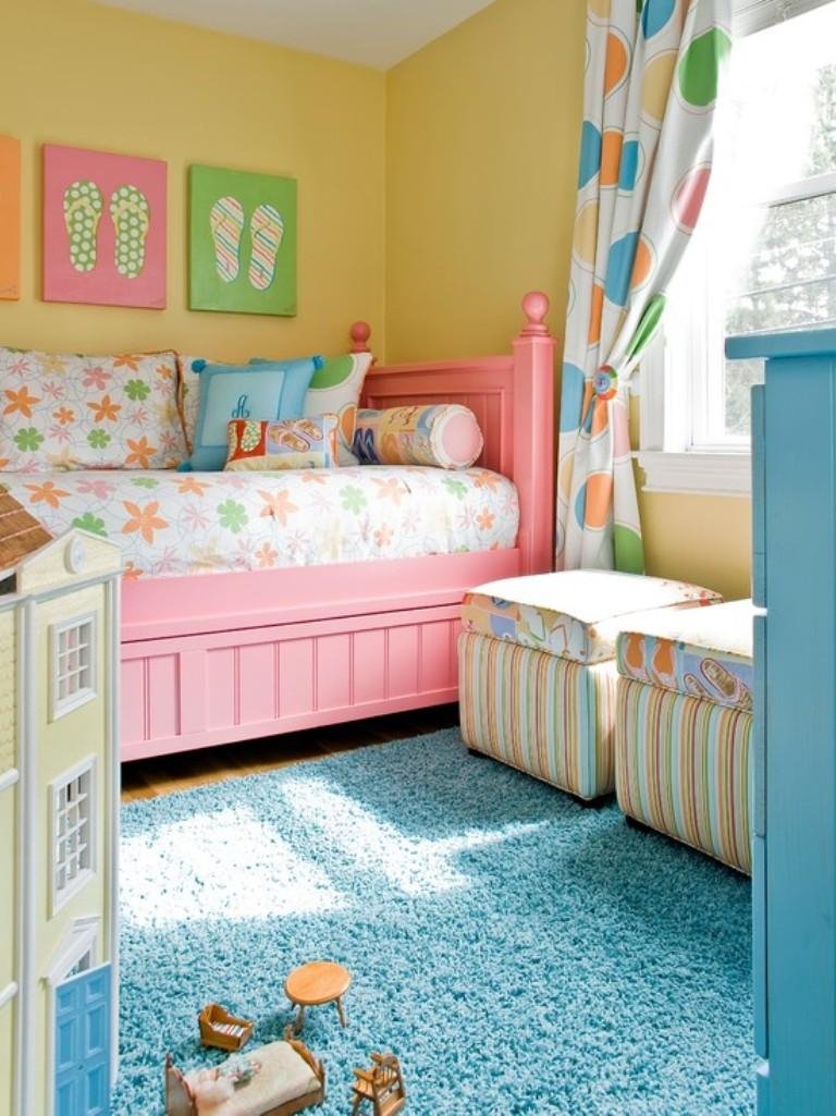 15 Adorable Pink And Yellow Girls Bedroom Ideas Rilane