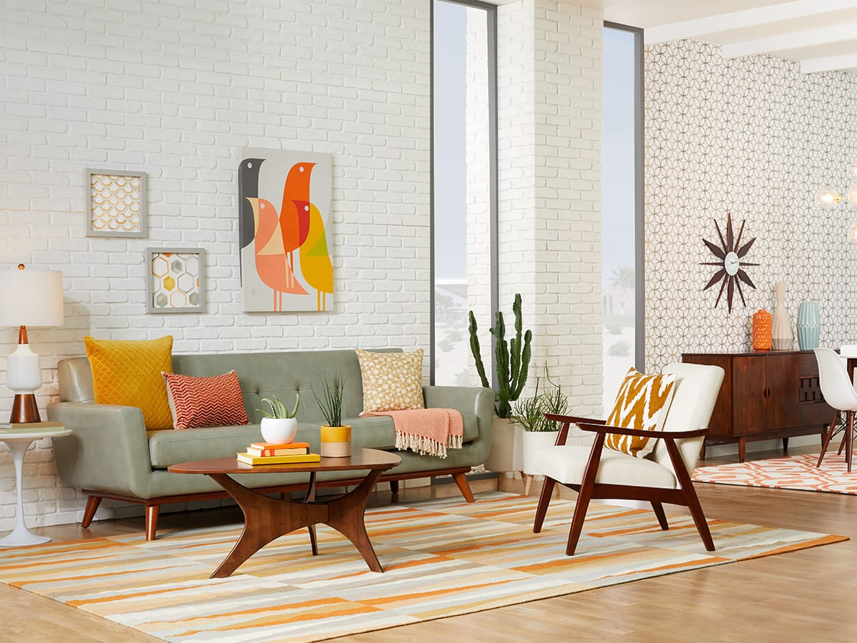 20 Mid Century Modern Living Room Ideas Overstock