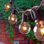 Vintage Patio String Lights Outdoor