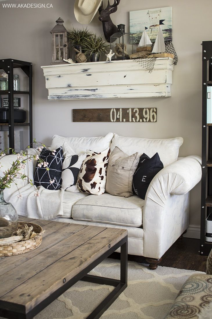 27 Rustic Farmhouse Living Room Decor Ideas For Your Home Living