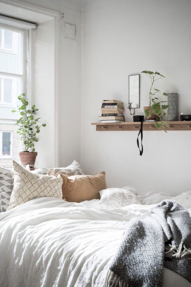 30 Cozy Scandinavian Bedrooms Sovrum Home Decor Bedroom Decor
