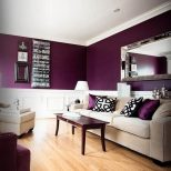30 Cute Living Room With Purple Color Schemes Design Ideas Home