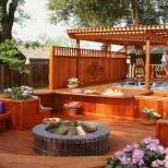 30 Outdoor Hot Tub Deck Ideas Designs