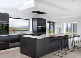 Black White Modern Kitchen