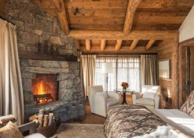Lodge Style Bedroom