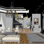 3D Luxury Bedroom
