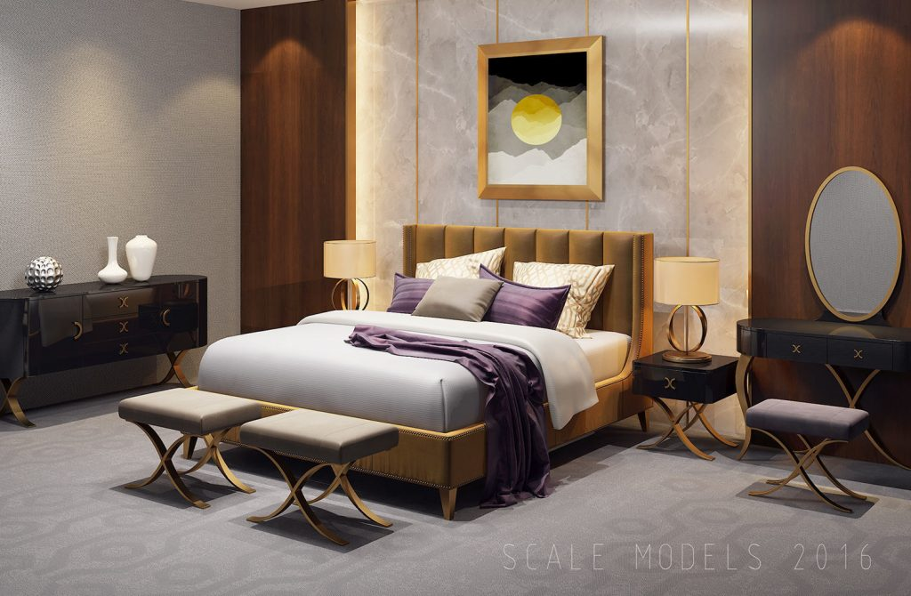 3d Model Luxury Bedroom Interior 033 Cgtrader