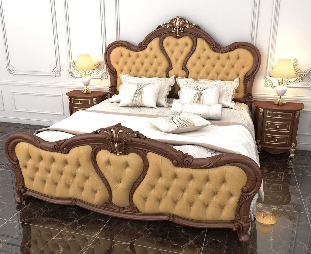 3d Model Luxury Bedroom Stand Cgtrader