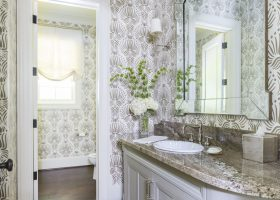 Powder Room Bathroom