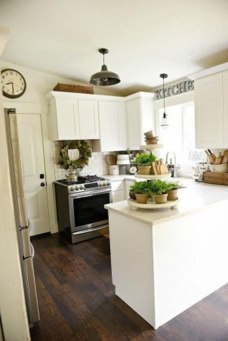 50 Beautiful Farmhouse Kitchen Makeover Ideas On A Budget Kitchen