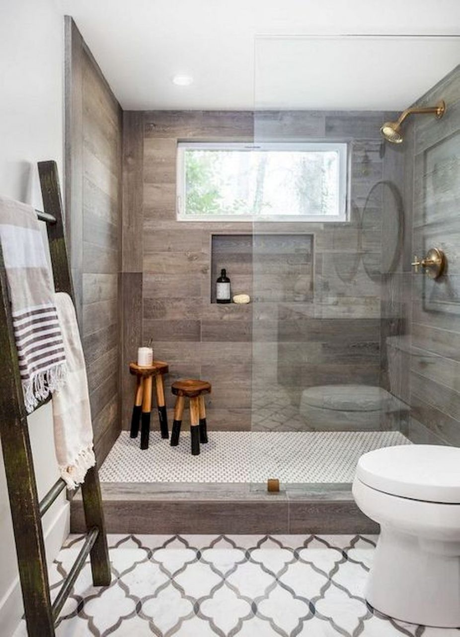 50 Rustic Farmhouse Master Bathroom Remodel Ideas Home Shit