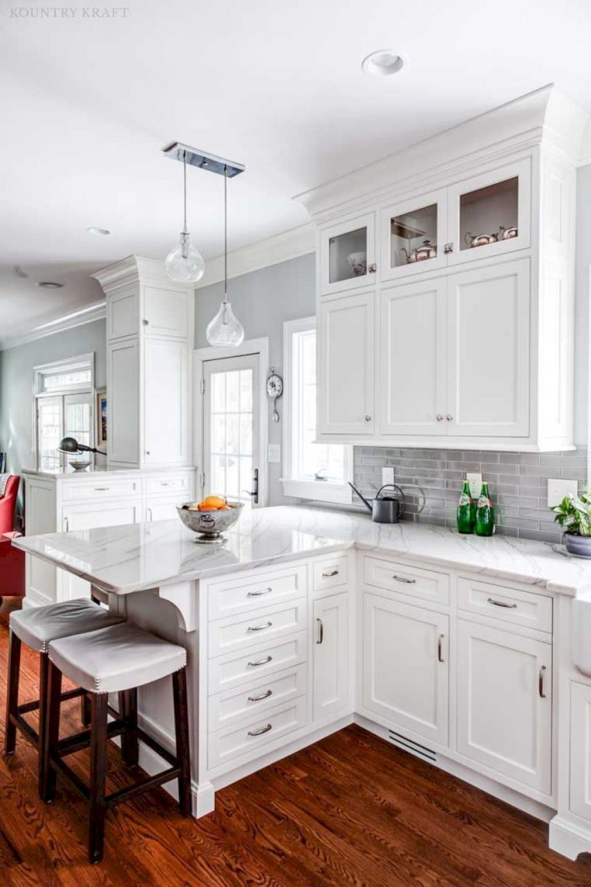 53 Elegant White Kitchen Cabinets Decor And Design Ideas Home