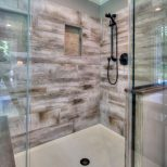 60 Gorgeous Farmhouse Shower Tiles Design Ideas Bathroom Ideas