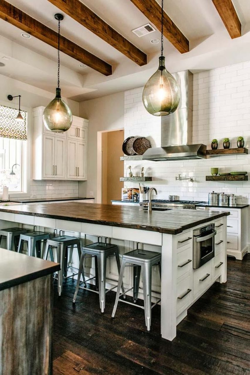 60 Stylish Industrial Kitchen Design Ideas Small Kitchens