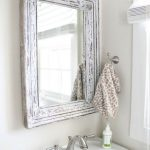 Shabby Chic Bathroom Mirror Ideas