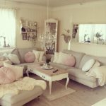 Antique Shabby Chic Living Room