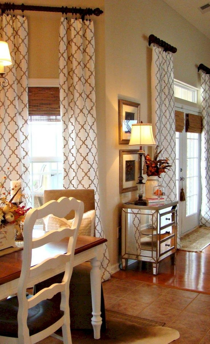 95 Modern Farmhouse Curtains For Living Room Decorating Ideas