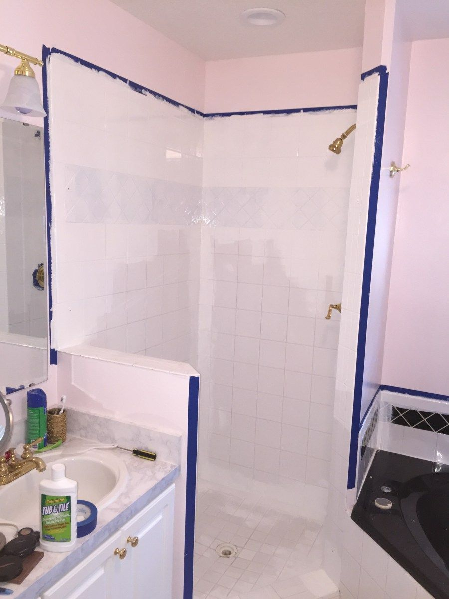 A Complete Guide How To Paint Shower Tile Youre Like Really Crafty