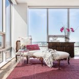 A Contemporary Condo With Vintage Furnishings Modern Accents And