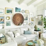 Coastal Beach House Living Room