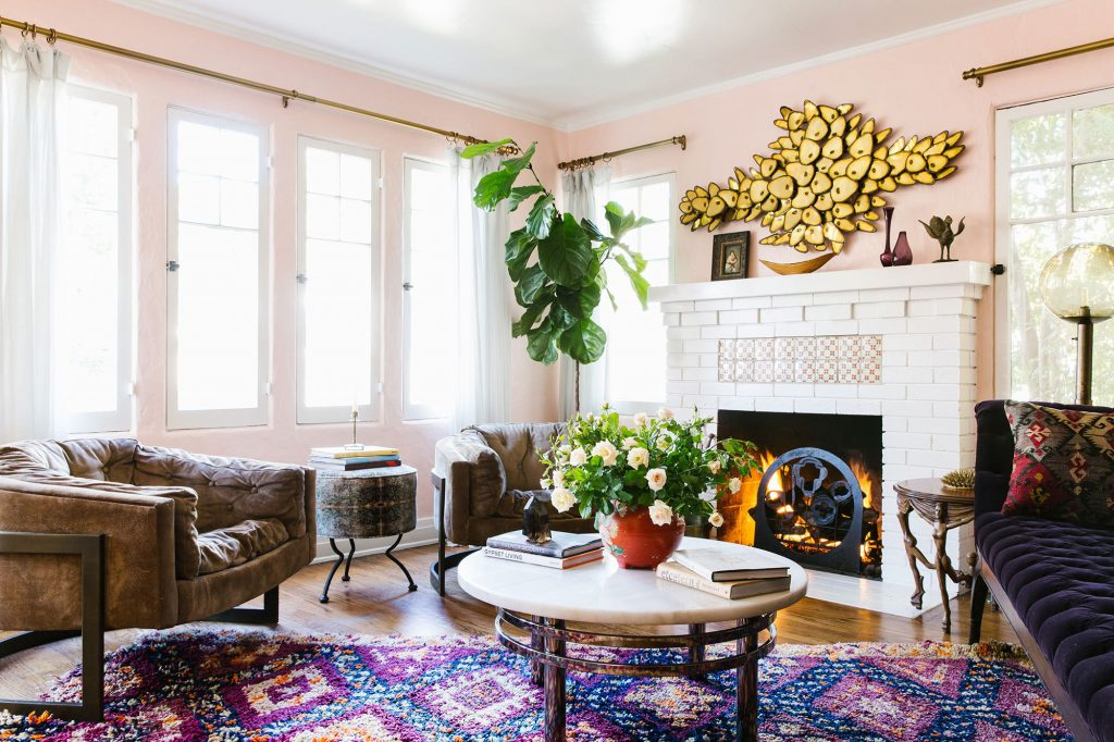A Designers Eclectic Bohemian California House Home Tour Lonny