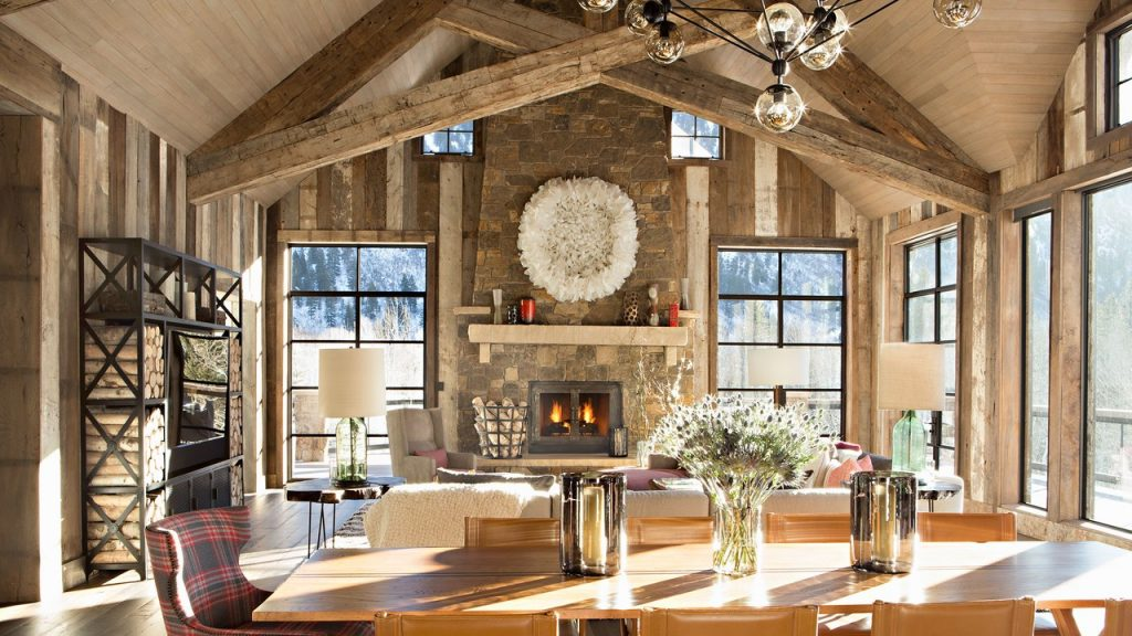 A Luxurious Yet Rustic Aspen Colorado Vacation Home