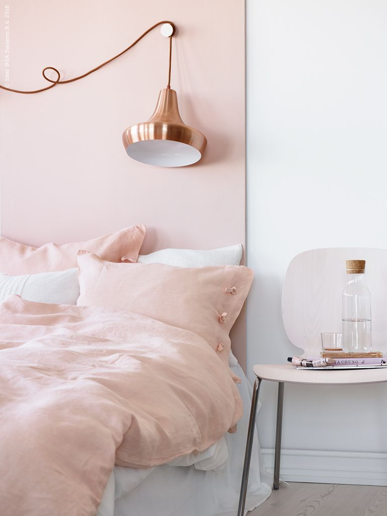 A Match Made In Heaven Copper Pink Blush Copper Bedroom