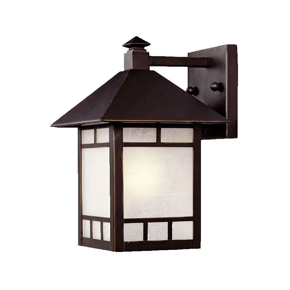 Acclaim Lighting Artisan Collection 1 Light Architectural Bronze