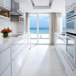 All White Kitchen With Ocean View Dream Home Oc California