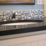 Bathroom Glass Mosaic Tile Backsplash Ideas