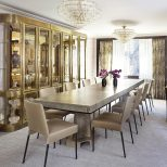 An Elegant Postwar Apartment With Character Dining Room Decor