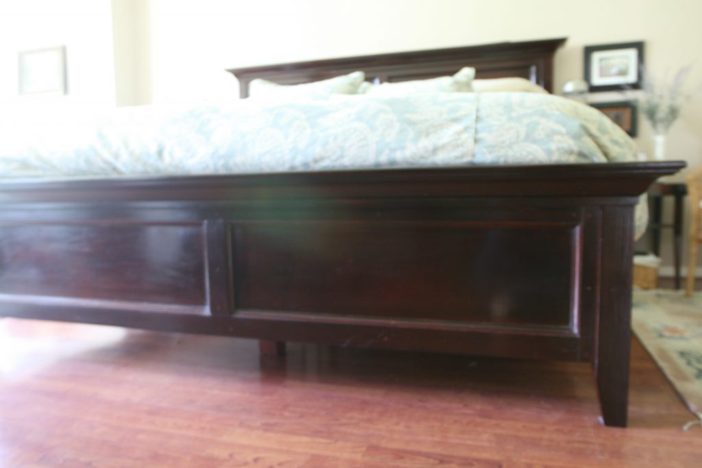 Ana White Modified Farmhouse Bed Diy Projects