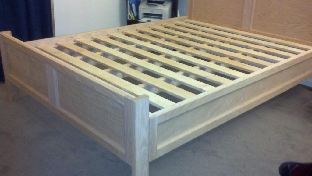 Ana White Modified Farmhousepottery Barn Bed Frame Diy Projects