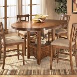 Ashley Furniture Cross Island 5 Piece Counter Height Ext Table